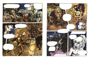Elfquest Coloration by Meajy