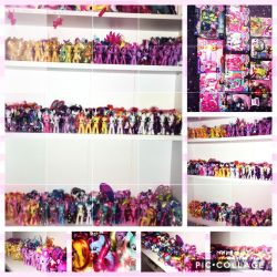 Updated mlp Brushables collection - (178 ponies) by 101xSplattyx101