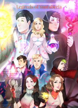Legends of Youtuberia remake :D by SepticMelon