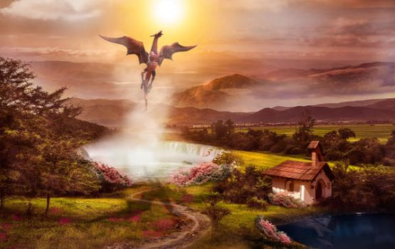 A typical day of the dragon by jasminira