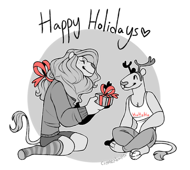 Happyholidays by CremexButter