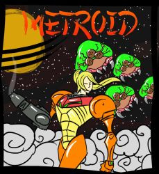 Cel Shaded Metroid by Royalty-Doc