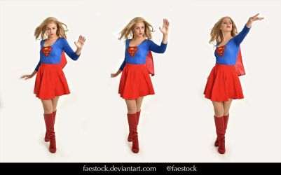 Supergirl  - Stock model reference pack 22 by faestock