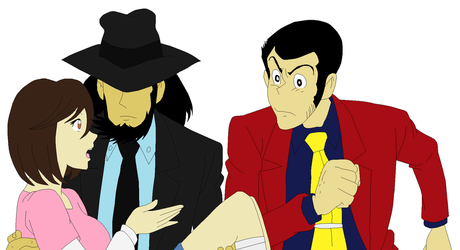 G.A.W Lupin The 3rd : ''I told you so.'' by SweetStar17