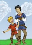 Aidan and Llelo by Drachenreiter88