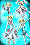 Power Puff Girls Z - Bubbles by WhiteMageOfTermina