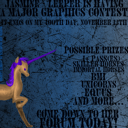 Major Graphics Contest by jasmineleeper