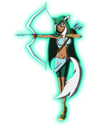 Character Reboot: The 12 Olympians - Artemis by Moheart7