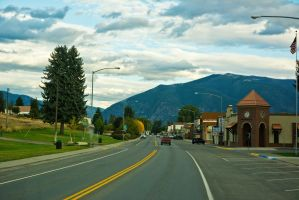 Cloudy Day in a Small Town by quintmckown