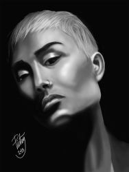 FACE STUDY #25 - Micah Gianelli by pictsy