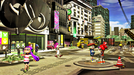 Welcome Inkopolis Square by RokaneShadow