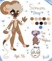 Simon's ref by puffyfeather