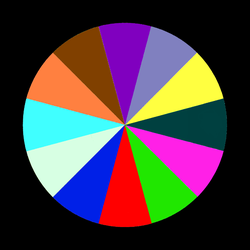 Zodiac Color Disk by BluesMcCrow