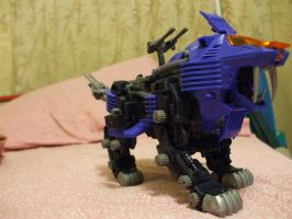Zoids: Shield Liger by Bloodthirstwolf
