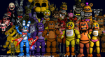 Five Nights at Freddy's - Thank You! by TF541Productions