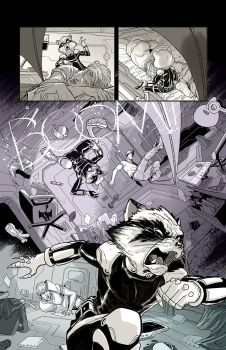 Guardians of the Galaxy test page done time ago by flavianos