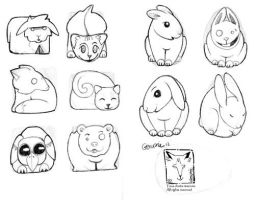 animal icons 2 by dragonladych