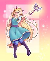 Star Butterfly fanart by thebrokendevil