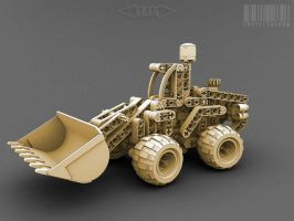 Lego Frontloader - 360 QTVR by pixelquarry