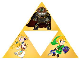 Triforce by MagicalRave