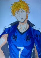 Kise Ryouta - Second year by Daisuke-Dragneel