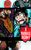 My hero Academia Boku 154 COLOR CHAPTER OVERHAUL by Amanomoon