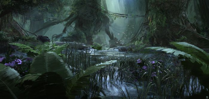 Bottom swamp by SolarSouth