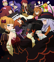 Umineko +tea Party+ by aidmoon