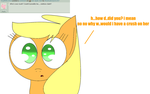 Ask Applejack #2 by theshadowpony357