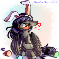 YCH - I'll be your easter bunny if you want by ChaosAngelDesu