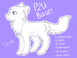 P2U Canine Base (50 points) by irukiina