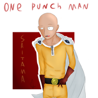 - ONE PUNCH MAN+ Saitama (with SpeedPaint) by BaketPotato