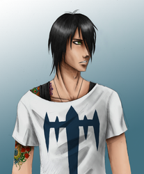 Emo dude by AyoWolf