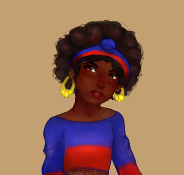 Miss Haiti by Arioodle