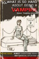 Vampire story pulp cover by didism