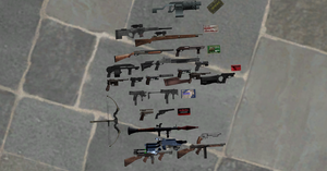 Resident Evil 4 Weapons by nico1415