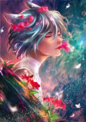 Whispers of A Flower Submission : 4 AM Flowers by Hana--bee