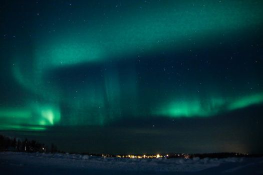 Northern Lights I by CAFxX