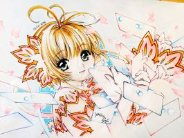 Sakura Kinomoto (CCS - Clear Cards) - CLAMP by YoungChanNguyen