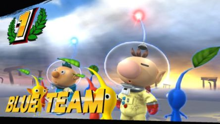 Olimar and Alph by EternityTsubasa