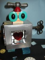 Heart of QR7 assemblage by Myrcury-Art