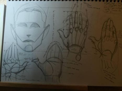 Anatomy of the hands study p.2 by Andrix9743