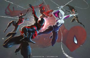 Spiderman collab by artofjosevega