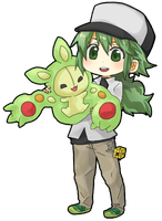 Chibi N with Reuniclus