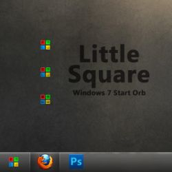 Little Square - Windows 7 by d-bliss