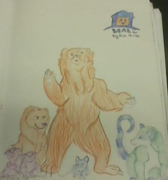 Bear in the big blue house by PrincessStarsong