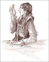 HP collab - Snape by lizard-spots