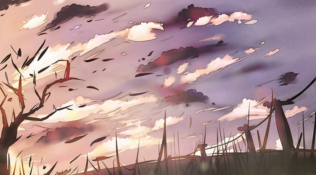Sunset scenery_test by ScytheID