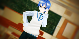 LAT Campus Kaito Download by MMDLADDyBoi003