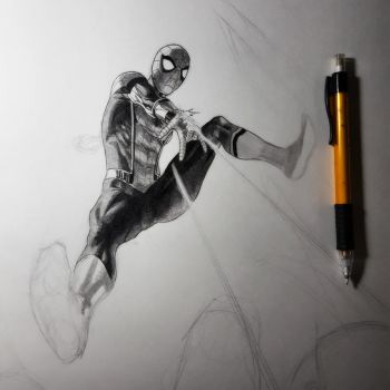 SPIDERMAN HOMECOMING wip by grandizer05